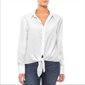 Cloth & Stone Tie Front Button Down